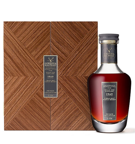 Dallas Dhu 1969 Private Collection Gordon & MacPhail 50 years old