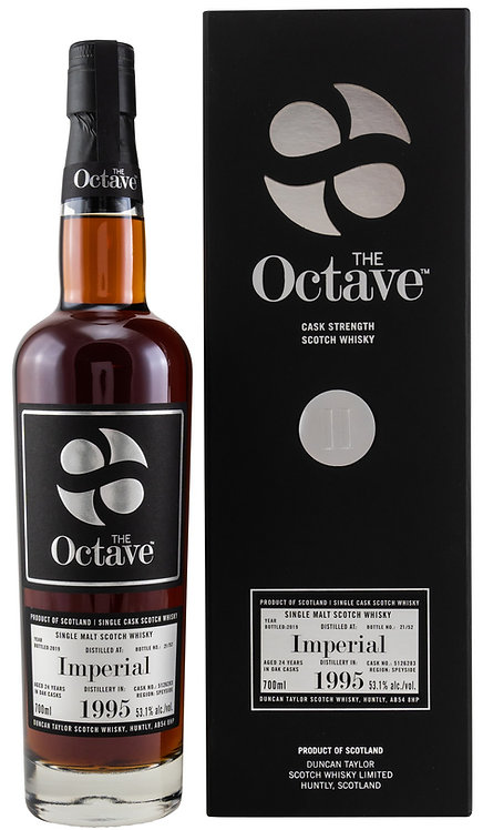 Imperial 1995 / 2019 Duncan Taylor The Octave 24 years old Cask 5126283