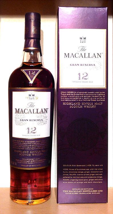 Macallan 12 Jahre Gran Reserva Sherry Wood Cask