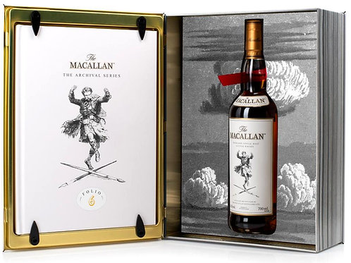 Macallan Folio 6 The Archival Series Bottled 2020 + Book Box