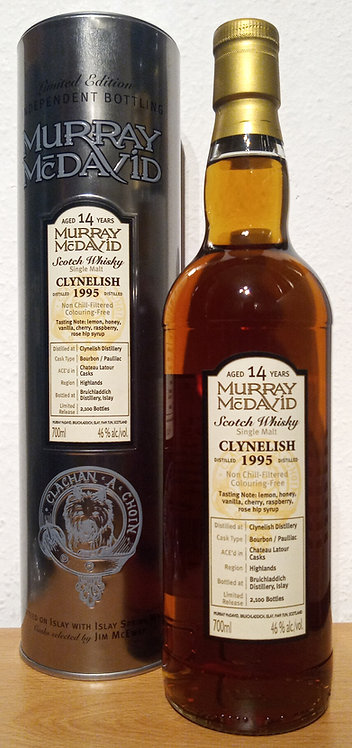 Clynelish 1995 Murray McDavid 14 Years old Silver Mission