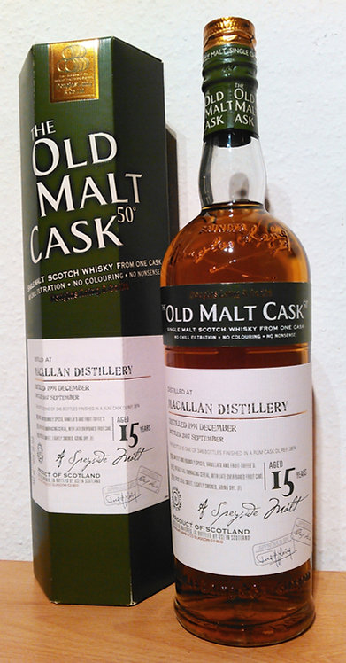 Macallan 1991 Douglas Laing Old Malt Rum Cask 15 Years old