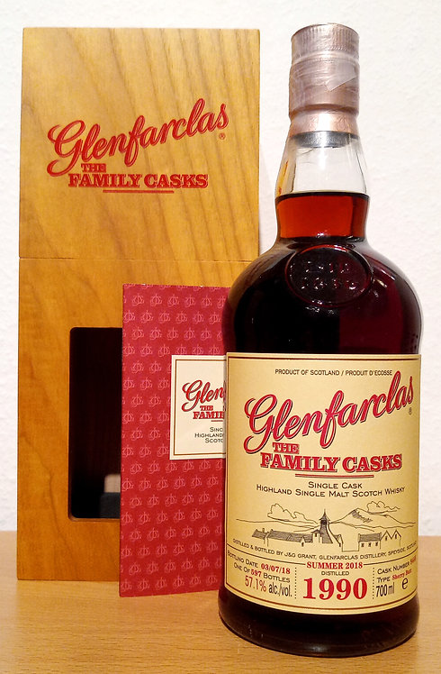 Glenfarclas 1990 The Family Casks 27 Years Sherry Butt 9468