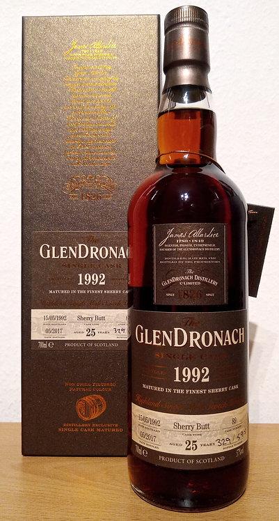 Glendronach 1992 Single Cask 89 Sherry Butt 25 Years old