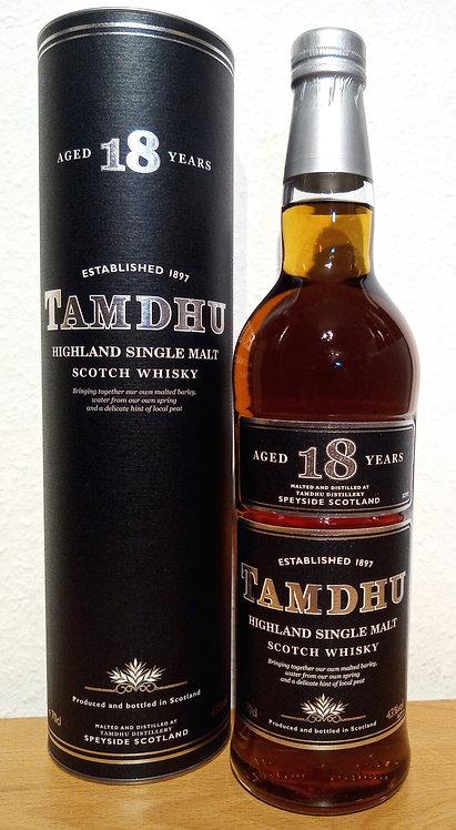 Tamdhu 18 Years old Highland Single Malt Whisky old black Tube