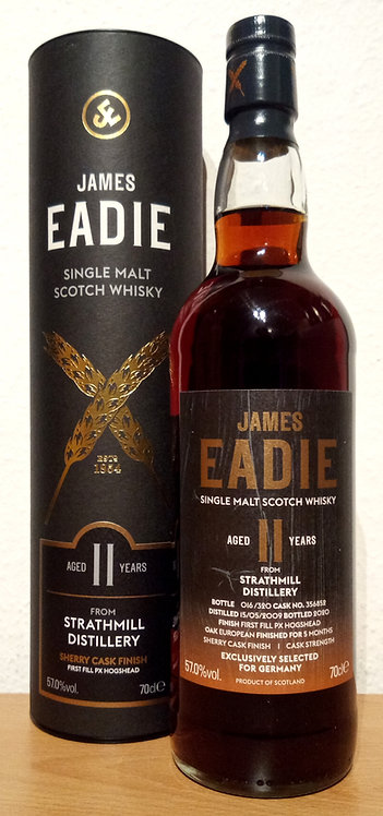 Strathmill 2009 James Eadie 11 Years old 1st Fill PX Hogshead Finish Cask 356852