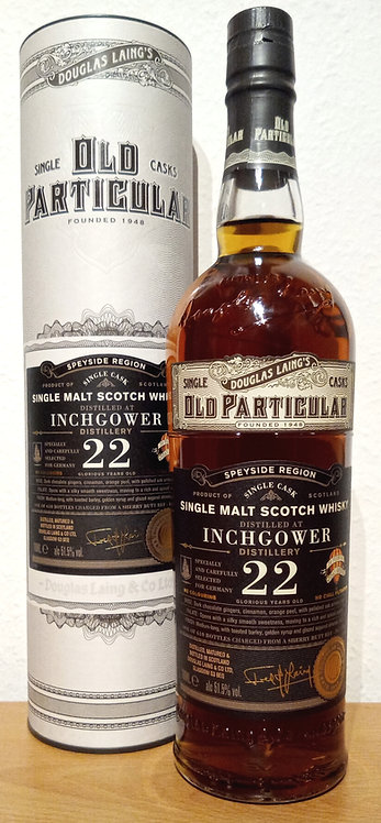 Inchgower 1996 Douglas Laing Old Particular 22 Years Sherry Butt DL 11920