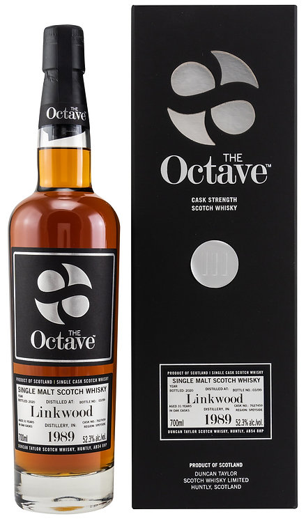 Linkwood 1989 / 2020 Duncan Taylor The Octave 31 years old Cask 7627459