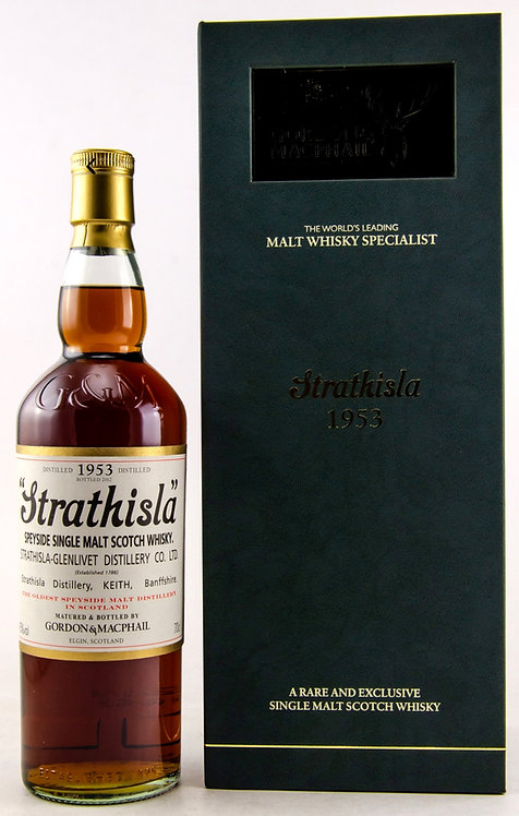 Strathisla 1953 Bottled 2012 by Gordon & MacPhail 58 Years old
