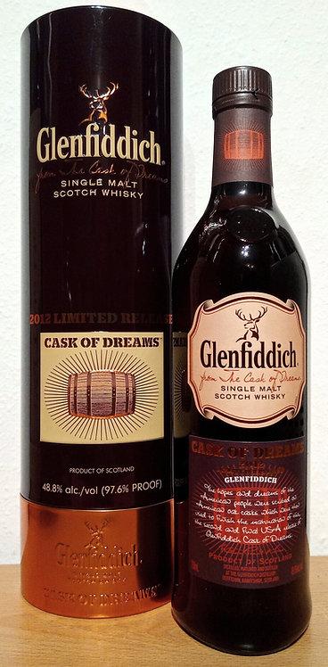 Glenfiddich Cask of Dreams 2012 American Oak Casks Limited Release
