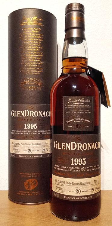 Glendronach 1995 Single Cask 5401 Pedro Ximénez Sherry Cask 20 Years old