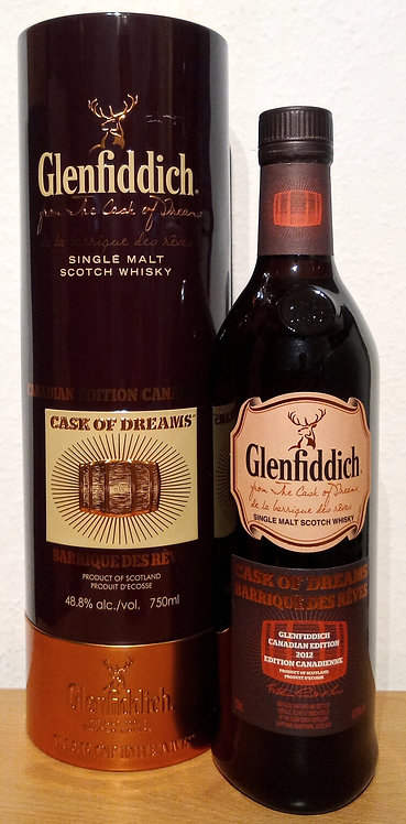 Glenfiddich Cask of Dreams 2012 Canadienne Limited Release