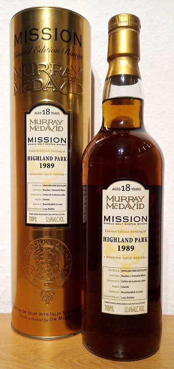 Highland Park 1989 Murray McDavid 18 Years old Mission Gold
