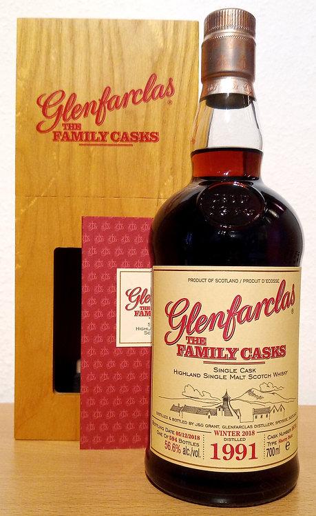 Glenfarclas 1991 The Family Casks 27 Years Sherry Butt 5675