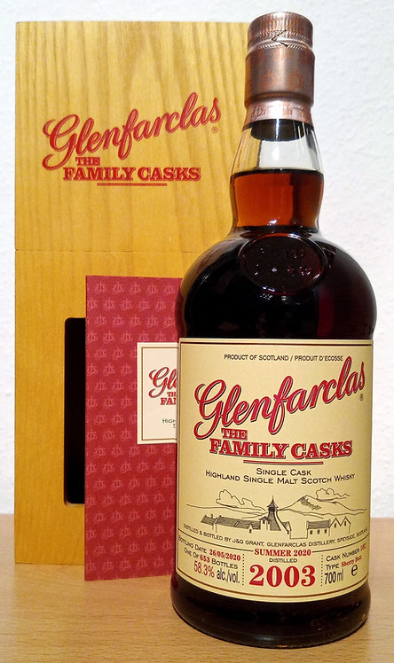 Glenfarclas 2003 The Family Casks 17 Years Sherry Butt 102