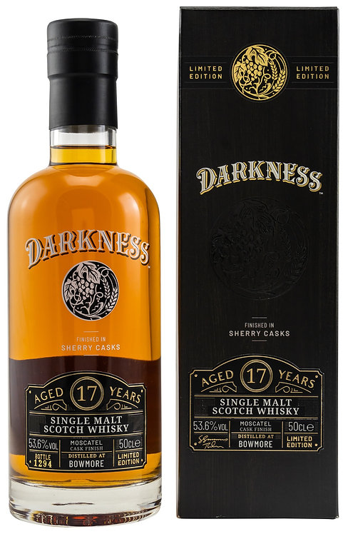 Bowmore 17 Years old Master of Malt Moscatel Octave Finish - Darkness