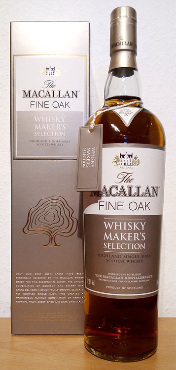 Macallan Whisky Maker's Selection Bottled 2006 Bourbon & Sherry Cask