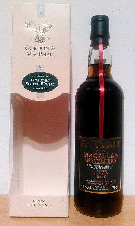 Macallan 1973 Bottled 2006 by Gordon & MacPhail 33 Jahre