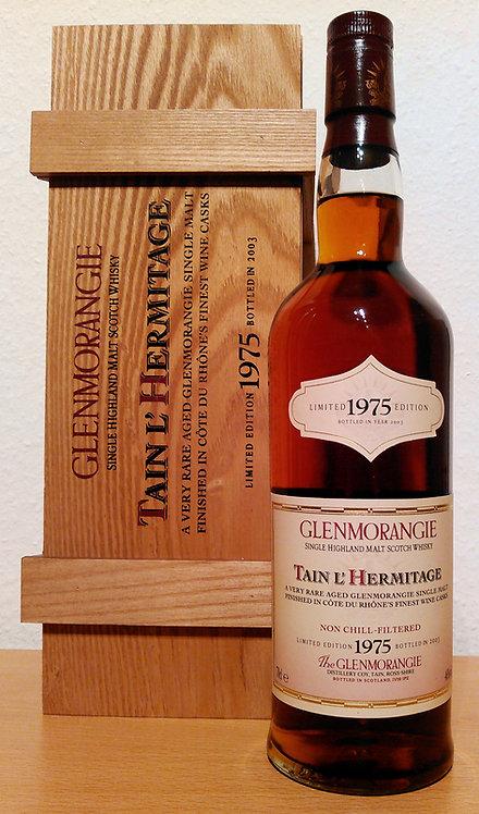 Glenmorangie 1975 Tain l'Hermitage Côtes du Rhône 28 Years old