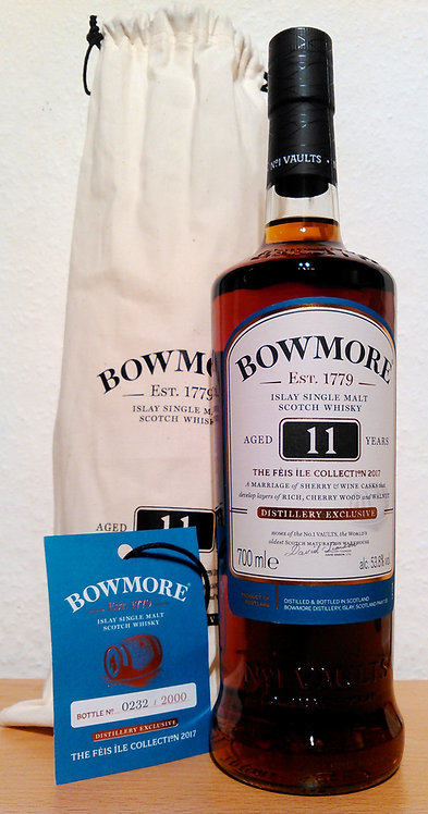 Bowmore 11 Years 2006 Feis Ile Collection 2017 Distillery Exclusive Hand Signed!