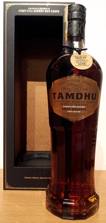Tamdhu Gran Reserva 1st Fill Oloroso Casks First Edition 2019
