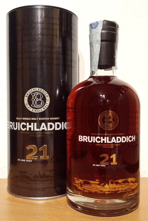 Bruichladdich 21 Years old 1st Edition Oloroso Sherry Casks