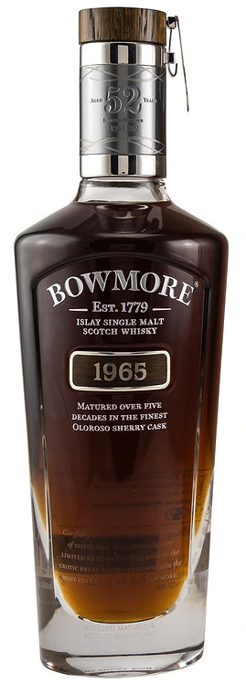 Bowmore 1965 Oloroso Sherry Cask 52 old Very Rare Bottling!