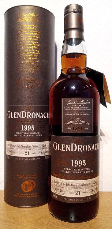 Glendronach 1995 Cask 3248 Pedro Ximenez Puncheon 21 Years old