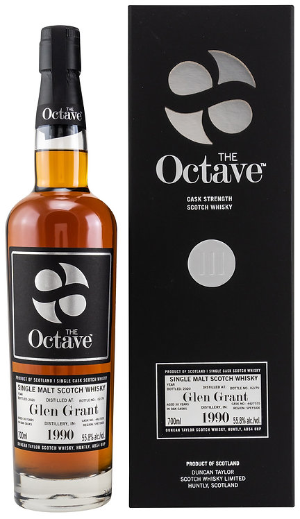 Glen Grant 1990 / 2020 Duncan Taylor The Octave 30 years old Cask 4427555