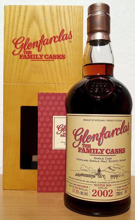 Glenfarclas 2002 The Family Casks 15 Years old Sherry Butt 3773