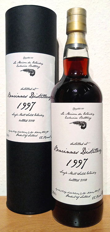 Benrinnes 1997 Signatory Vintage 20 Years old Sherry Hogshead 9734