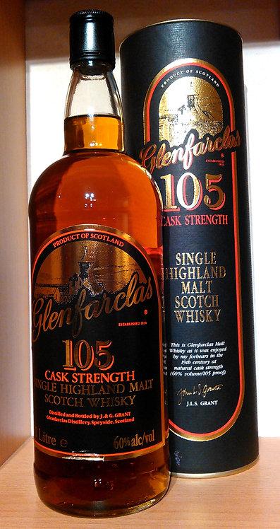 Glenfarclas 105 Kiln Label Black Cap Distillery Bottling 60% / 1,0L