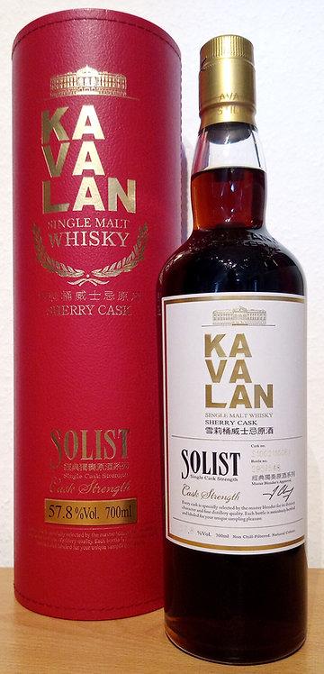 Kavalan Solist Sherry Cask Bottled 2016 Cask S100211006A