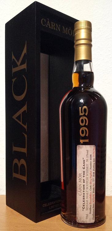 Bunnahabhain 1995 Cárn Mór 20 Years old Celebration of Cask 2536 Black & Gold