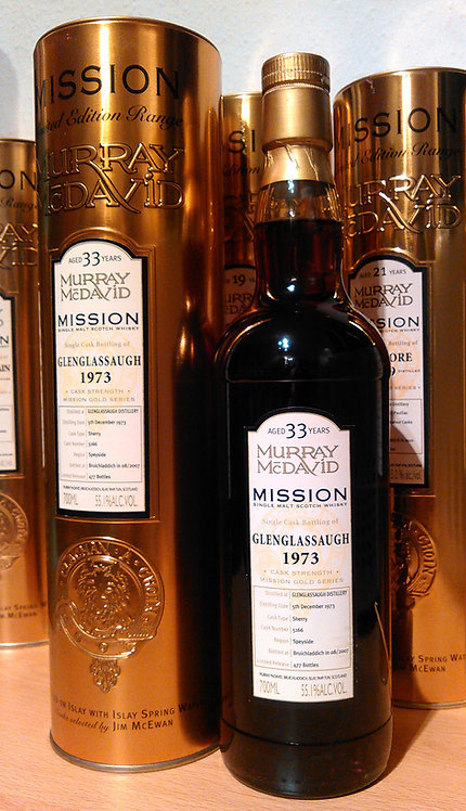 Glenglassaugh 1973 Murray McDavid 33 Years old Mission Gold Series