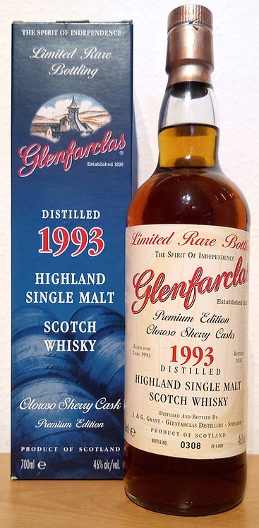 Glenfarclas 1993 Limited Rare Bottling 19 Years old Oloroso Sherry Cask