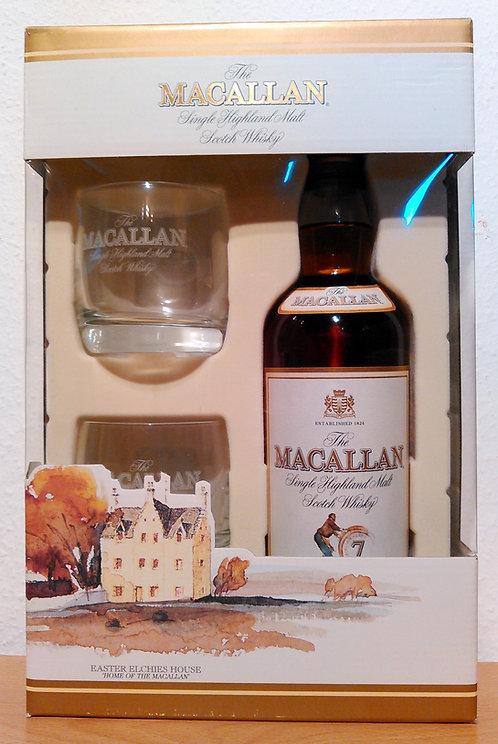 Macallan Geschenkset Sherry Oak Casks 7 Years old + 2 Macallan Tumbler