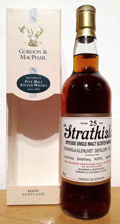 Strathisla 25 Years by Gordon & MacPhail 1st Fill Sherry Butt