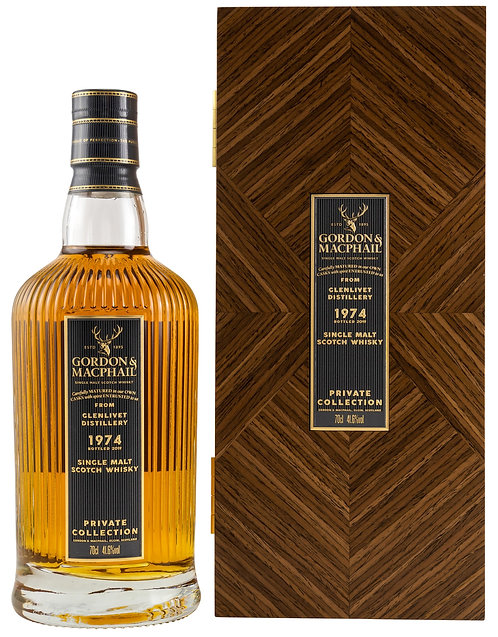 Glenlivet 1974 Gordon & MacPhail 45 Years old Private Collection