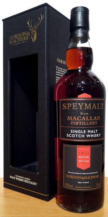 Macallan 1974 Bottled 2016 by Gordon & MacPhail 42 Years old
