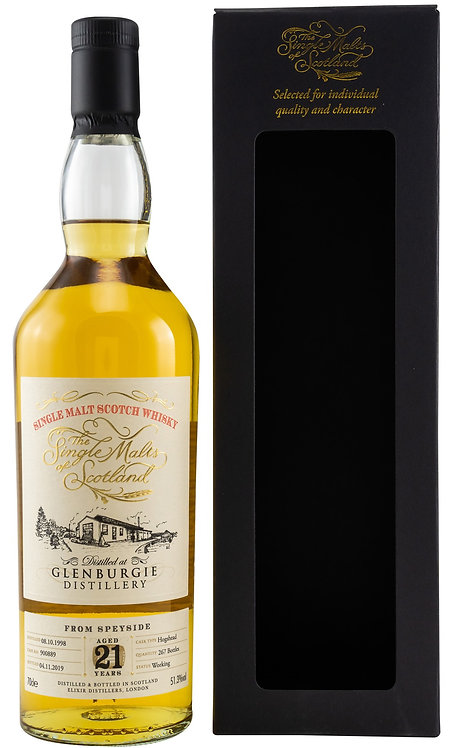 Glenburgie 1998 Elixir Distillers 21 Years old Bourbon-Hogshead 900889