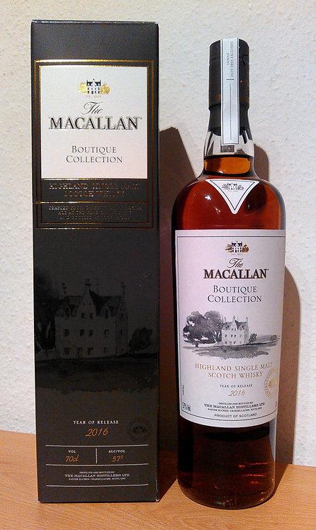 Macallan Boutique Collection Release 2016 Batch No.1