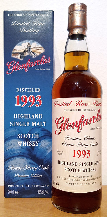 Glenfarclas 1993 Limited Rare Bottling 19 Years old Oloroso Sherry Cask