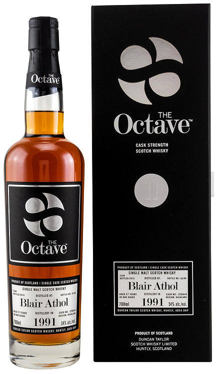 Blair Athol 1991/2019 Duncan Taylor The Octave 27 years old Cask 328649