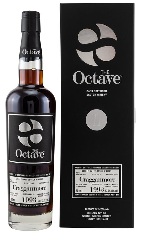 Cragganmore 1993/2019 Duncan Taylor The Octave 26 years old Cask 4220859