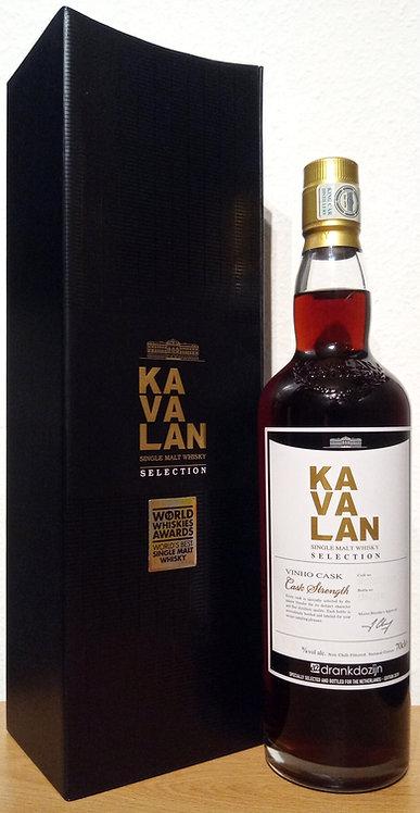 Kavalan Selection Vinho Cask Vinho Barrique Bottled for Drankdozijn