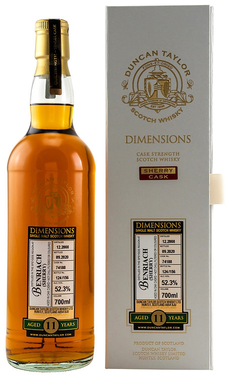 BenRiach 2008 Duncan Taylor 11 Years old Sherry Cask 74188