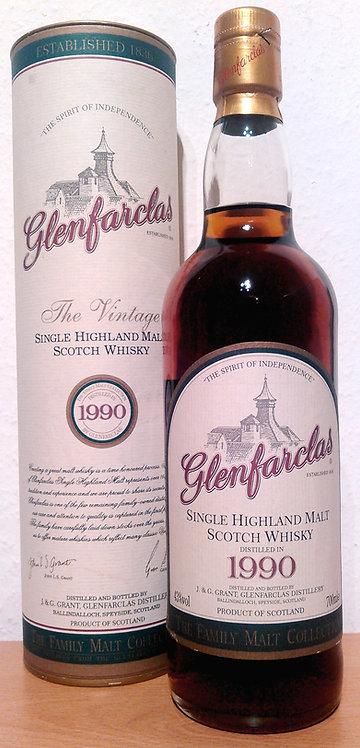 Glenfarclas 1990 Bottled 2002 The Family Malt Collection