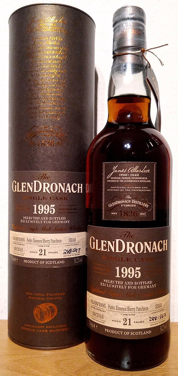 Glendronach 1995 Single Cask 3310 PX Sherry Puncheon 21 Years old