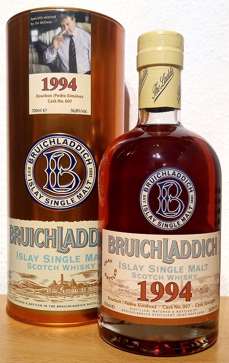 Bruichladdich 1994 Bourbon / Pedro Ximénez 14 years old Casik 007